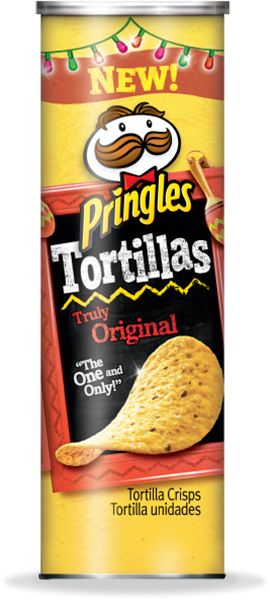 Pringles Tortillas...so good! (15 = 150 calories)