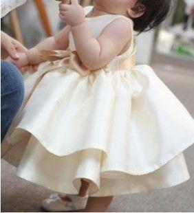 秋款 出口品质儿童礼服裙女童蓬蓬裙周岁婴儿裙公主裙花童裙婚纱-淘宝网