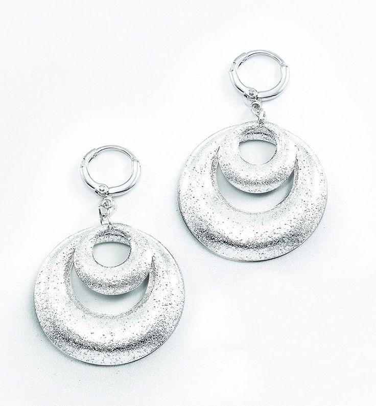 NICE Regalos hermosos - Delicados broche con piedras de cristal. Joyería con baño de rodio.