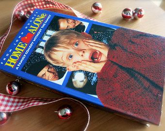Vintage Home Alone VHS Movie-Original Case-Family Christmas Comedy Movie-1990's Film-Macaulay Culkin-Catherine O'Hara-John Candy-John Hughes