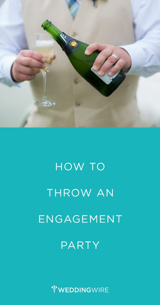 Whether you are a parent, close family friend, or in the wedding party - read these tips on How to Throw an Engagement Party!