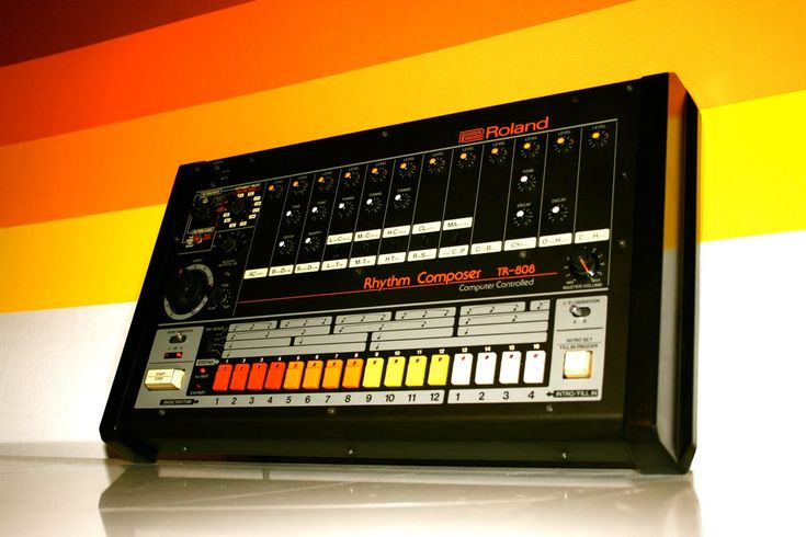 The drum machine that changed the world.