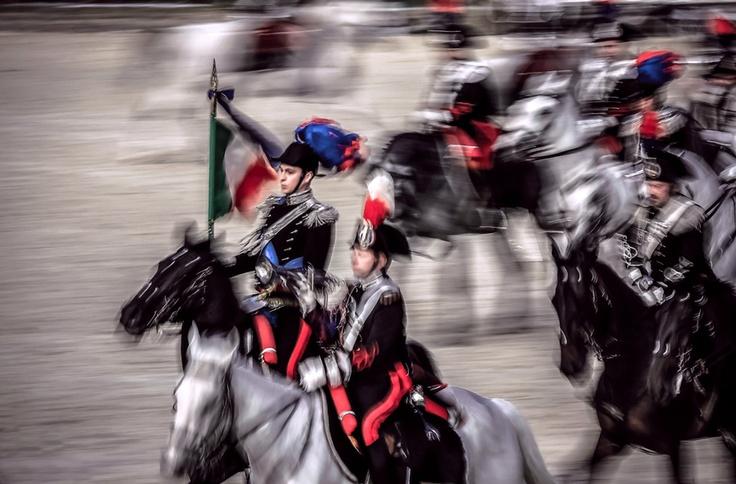 Carosello dell'Arma dei Carabinieri. Pastrengo's battle