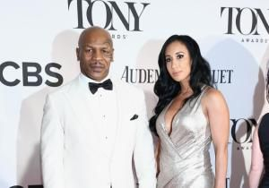 "Mike Tyson came to the 67th annual Tony Awards to be an unlikely chorus boy in ""Bigger,"" the opening number for the honors which kicked off the night's broadcast. But bigger things would kick off later between him and his wife, Lakiha 'Kiki' Spicer, at the post-Tony gala."