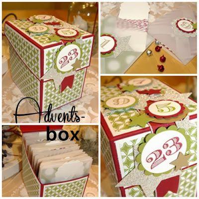 Adventsbox zum Verschenken von Kristin kw-eselsohr.blogspot.de | #WeihnachtenKannKommen www.danipeuss.de