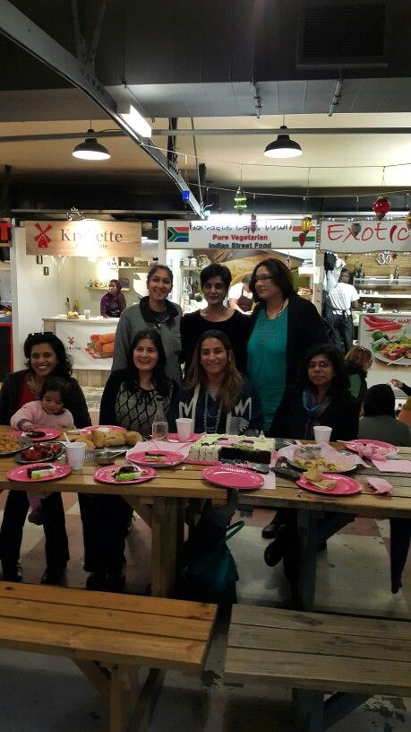 A party for a special lady at Namaste Cape Town