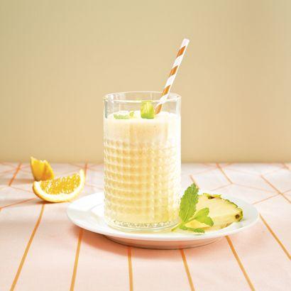 ALDI België - Recept - Ananas-sinaasappelsmoothie