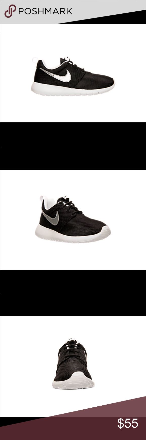 Brand new Nike shoes in box. Never been worn. Grade school Nike Roshe One casual shoes. They say boys but they could be for boys or girls. (I bought another pair for my daughter and she loves them! I posted a pic of her shoes for reference) Nike Shoes Sneakers
