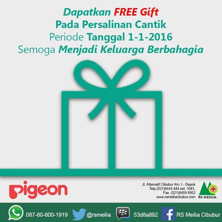 Free gift #persalinan #kelahiran #kehamilan #kandungan #kebidanan #rsmeilia #sehat #cibubur #depok #cileungsi #bogor #bekasi #jakarta