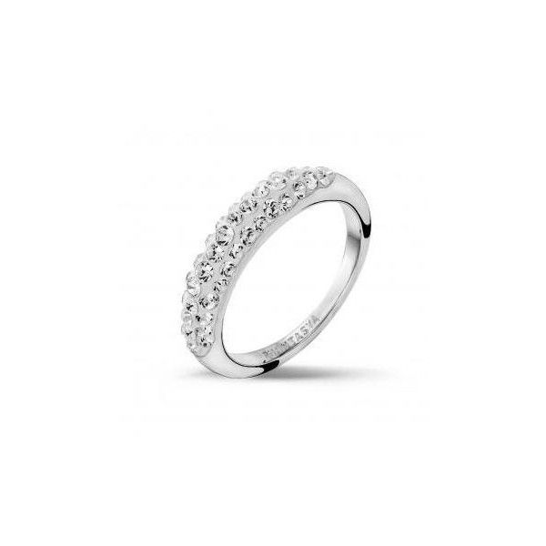 Crystal Band Ring, quality crystals sparkle forever.