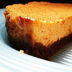 Cheesecake di zucca e cannella #italianfood #recipes
