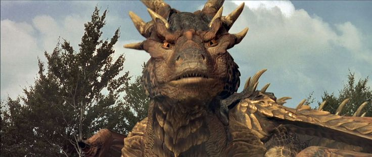 dragonheart bowen   scene from Dragonheart , starring Dennis Quaid, Sean Connery, and ...