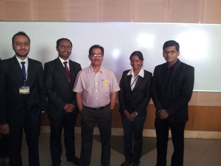 The Winners of Gaon Ka Ghalib with the Judge for the Event Mr. T.K.Sehgal (Senior Brand Servicing Director) Lowe Lintas