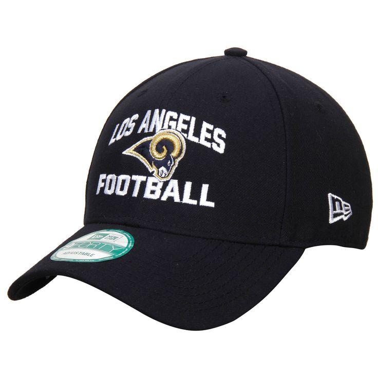 Los Angeles Rams New Era Football Structured 39THIRTY Flex Hat - Navy - $21.59