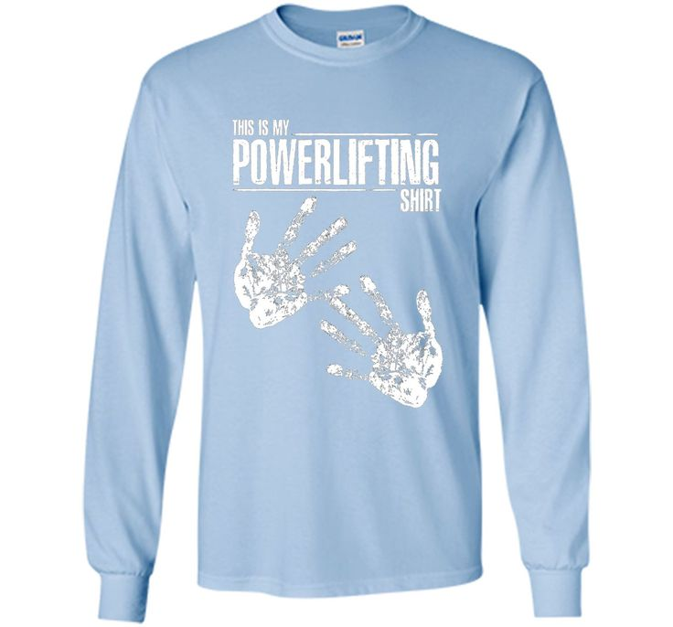 100% Cotton - Made in US - Machine wash cold with like colors, dry low heat - Are you a powerlifter? Are you constantly getting chalk on your shirt? Show up to the gym with this powerlifting shirt rea
