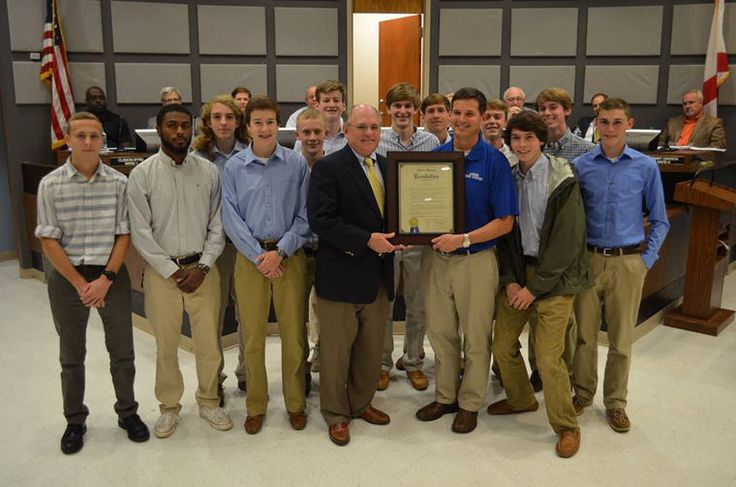 Auburn High School Varsity Boys Cross Country Team recognized at the Auburn City Council meeting - Dec.1, 2015.  State Champs!!!