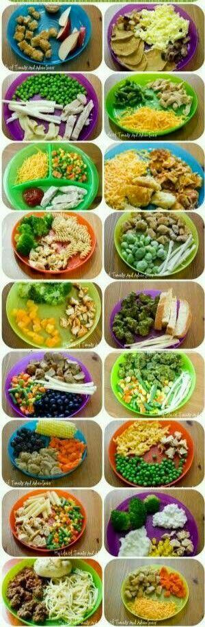 Toddler / picky kids eater food ideas.  G;)