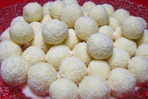 Нежные кокосовые конфеты «Рафаэлло»
