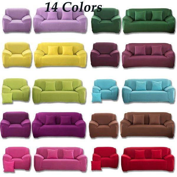 1-4 Seater Stretch Sofa Cover Couch Recliner Chair Slipcover Protector Washable