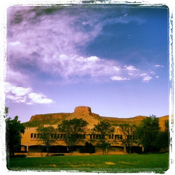 Golden Colorado's Famous Mesa, Taken Outside The School Of