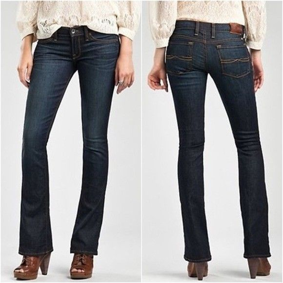 """NWT $99 Lucky Brand Women's Jeans Baby Boot Cut """"Charlie"""" Jeans Size 25  Ankle  