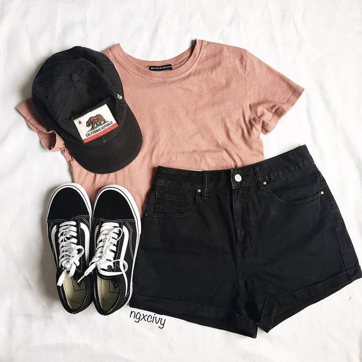 """68.7k Likes, 68 Comments - Angel™ (@americanstyle) on Instagram: """"Love this outfit! YES? credit @ngxcivy  top: @brandymelvilleusa shorts: @pacsun shoes: @vans…"""""""