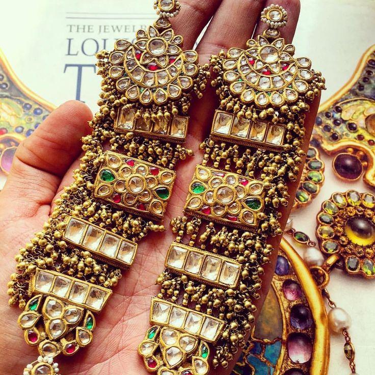 171 best Rajasthani jewellery images on Pinterest | Bridal ...
