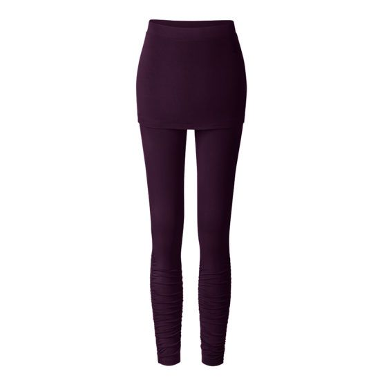 Curare Leggings skirt Pant Aubergine