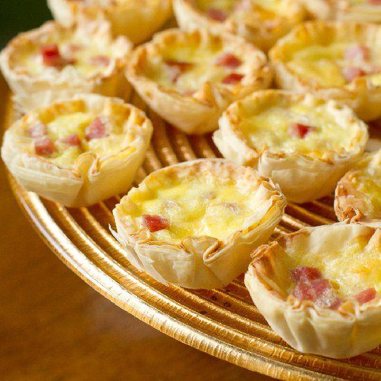 243 best tapas canapes bite size hors devours images for Canape quiche recipe