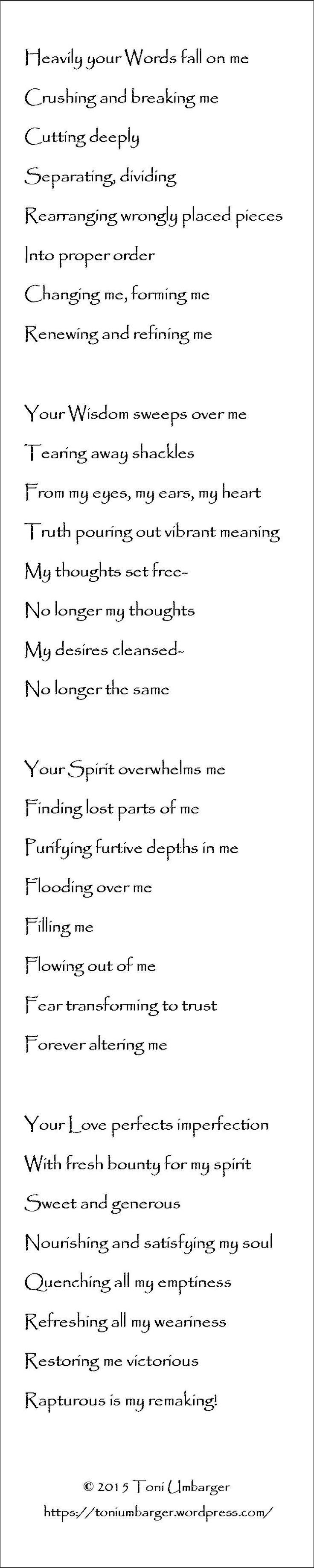 Divine Demolition #poetry #Christian faith