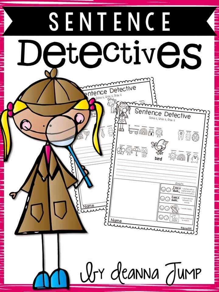 Sentence Detectives: No Prep Reading and Sight word fun FREEBIE!