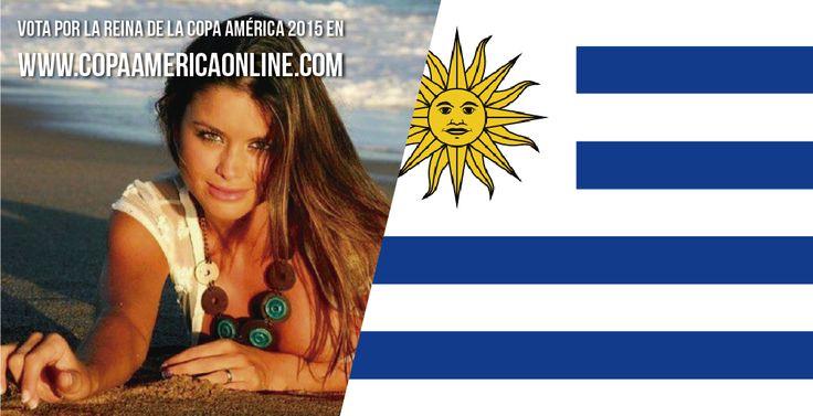Candidata a Reina de la Copa América 2015, representando a Uruguay Viitto Saravia a Votar por tu favorita #ReinaCopaAmerica2015 http://ow.ly/Ojdjq