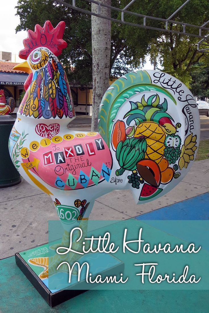 "An Introduction to Little Havana Miami Florida.  Little Havana is located just west of Downtown Miami along 8th Street also known as ""Calle Ocho"". Currently, the residents of the community are mostly Central and South American, but the area got it's name for originally being inhabited by Cuban immigrants. It's only a few blocks long but it has character and life to it and is definitely worth exploring further."