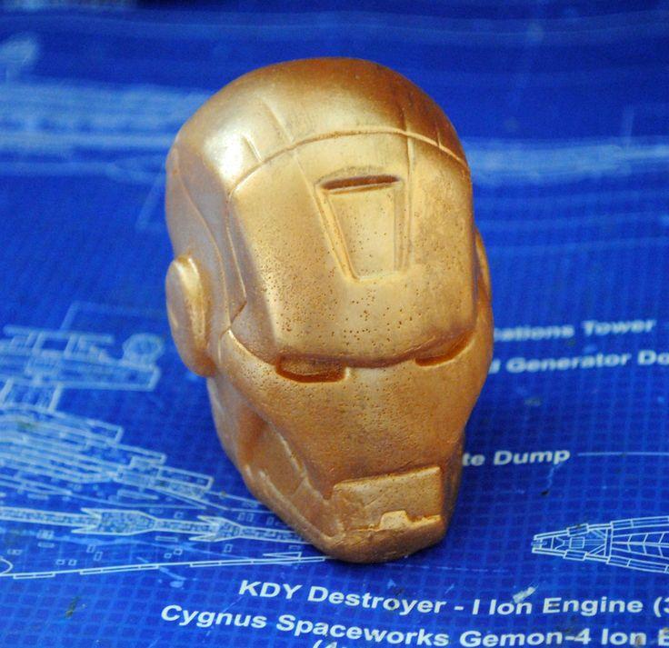 Handmade Iron Man Soap – Iron Man, Christmas gift, stocking gift | eBay