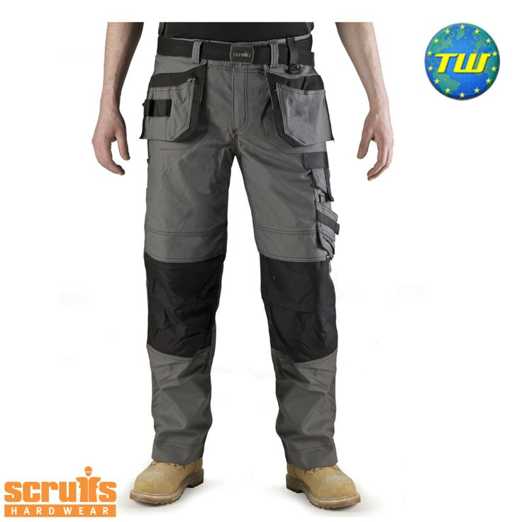 http://www.twwholesale.co.uk/product.php/section/10256/sn/Scruffs-Trousers-T51126 Scruffs Pro Trousers black are highly versatile work trousers made from water and wind resistant cotton and polyamide fibres.