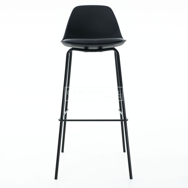 essence barkruk design barstool zwart