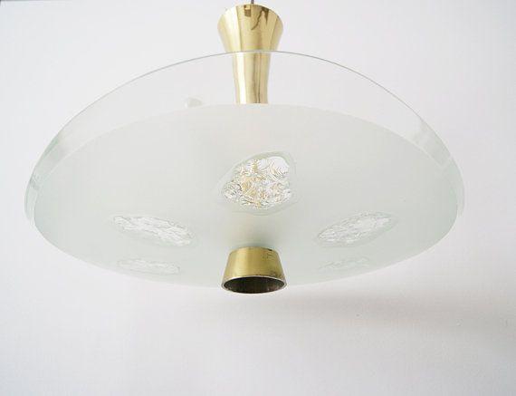Deckenlampe Von Fontana Arte Modell 1748 Lampe Von Max Ingrand Dube Designklassiker Beleuchtung Lamp Ceiling Lights Light Bulb
