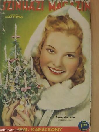 Szinházi magazin - 1941 dec. 17-23  - Szeleczky Zita