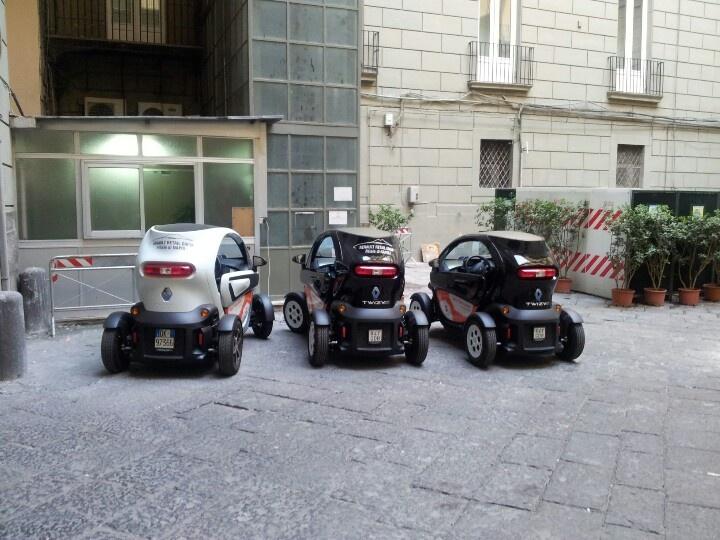Twizy elettriche. Napoli