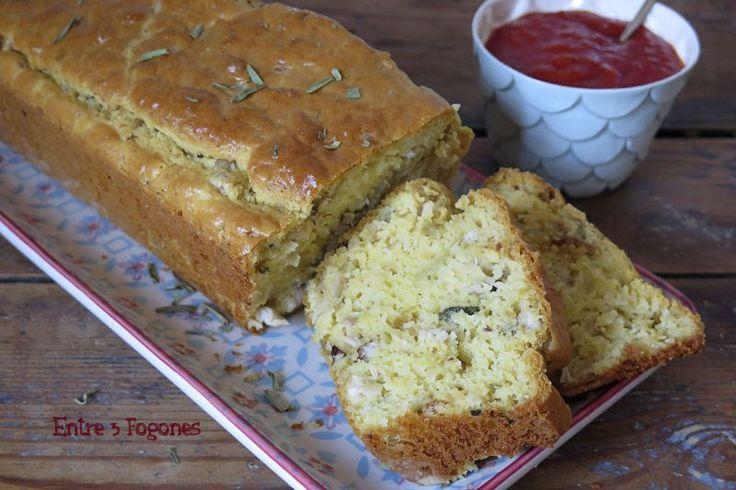 Receta Cake de Pollo Asado al Estragón