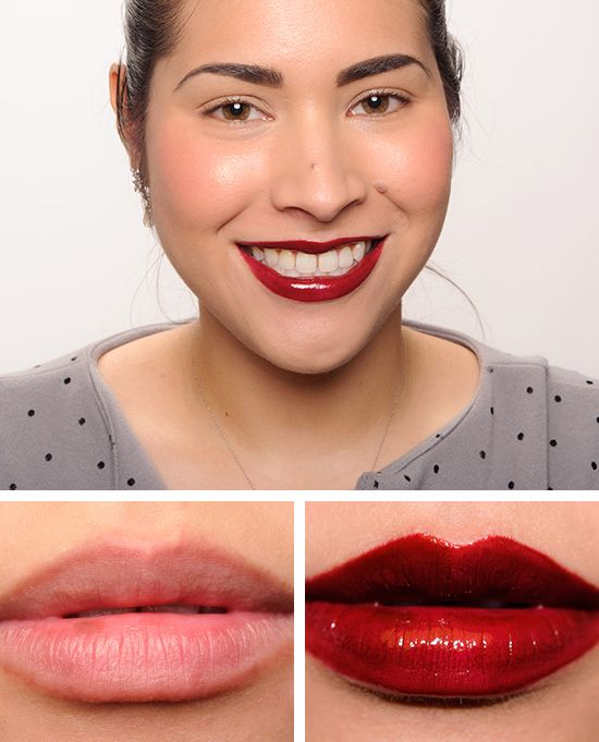 MAC Dark Outsider over Studded Kiss Lipstick Cremesheen Glass