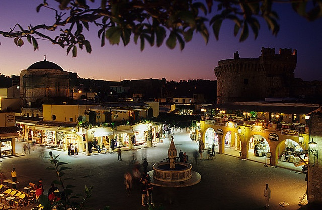Rhodes Old Town, Rhodes, Greece...wow, this is where I met Charlie!!!