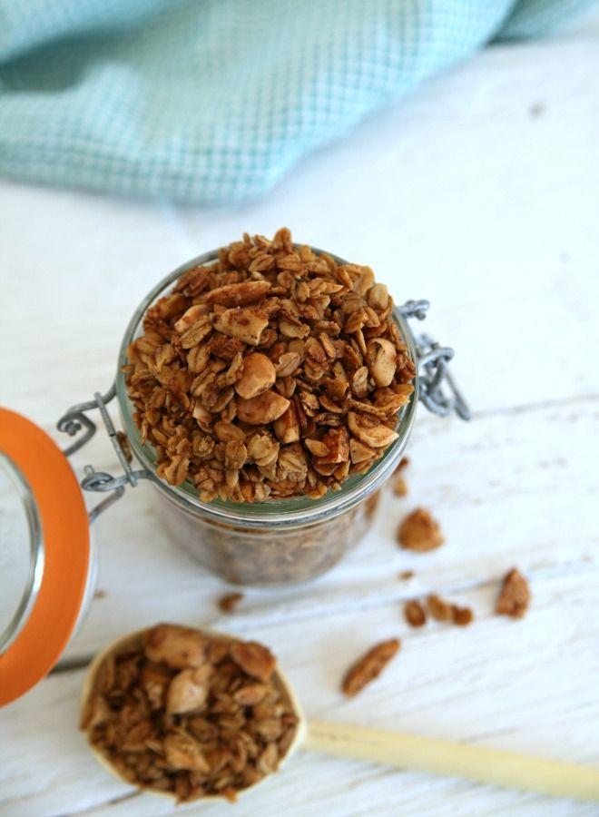 Vanille amandel granola recept 02