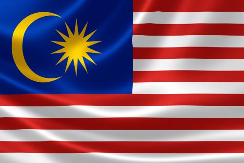 Flag of Malaysia or Yalu Margate City crates (Malay: Jalur Gemilang means. Flag…