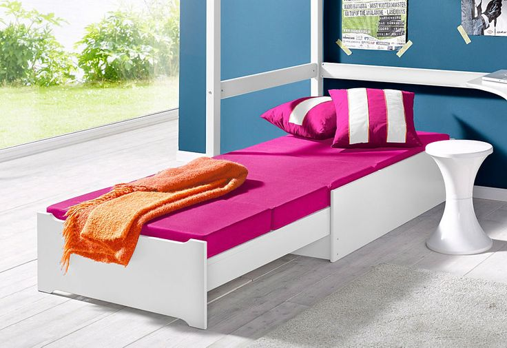 Hoppekids Sofabett, ausziehbar, »Flowerpower« Jetzt bestellen unter: https://moebel.ladendirekt.de/kinderzimmer/betten/kinderbetten/?uid=22c5e0c6-96d9-51c6-b105-c74bff2de86b&utm_source=pinterest&utm_medium=pin&utm_campaign=boards #kinderzimmer #kinderbetten #betten