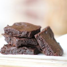 AIP Carob Brownies - He Won't Know It's Paleo