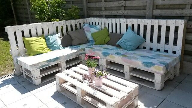 diy paletten lounge garden lovers pinterest lounges and diy and crafts. Black Bedroom Furniture Sets. Home Design Ideas