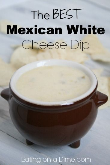 Try this amazing mexican white cheese dip at your next gathering.