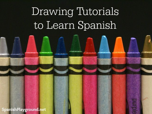 Drawing tutorials are excellent language activities. Tutorials with written instructions or videos expose kids to Spanish as they learn to draw. http://www.spanishplayground.net/drawing-tutorials-spanish/