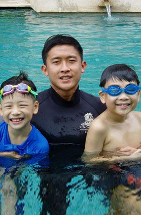 Singapore Swimming club membership is chargeable to any of swimming club but learn to swim gives a free membership there hurry up its for limited days.